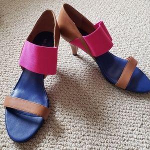 United Nude Colorblock Heels